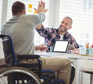 Aides en alternance pour travailleurs handicapés